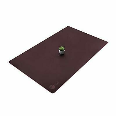 Siig Artificial Leather Smooth Desk Mat Blotter Protecter - 36 X 22 Desk Pad W