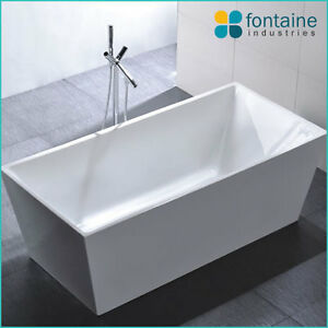 1700 mayfair freestanding bath tub bathtub square elegant bathroom new