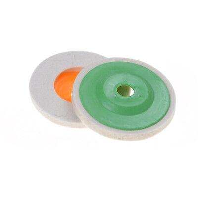 100mm 4 inch Wool Buffing Grinding Wheel Felt Polishing Discs Pads Set Nice PX