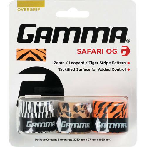 Gamma Safari Tennis Overgrip (Multicoloured)