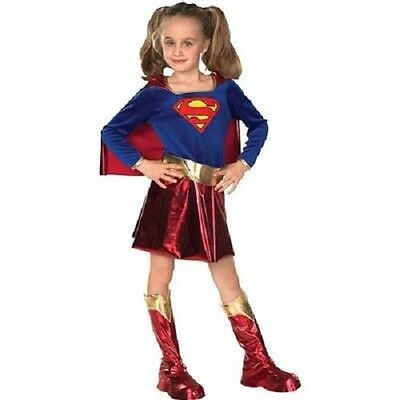 girls deluxe SUPERGIRL Halloween costume SMALL 4-6 Rubie's ](Supergirl Costume For Girls)