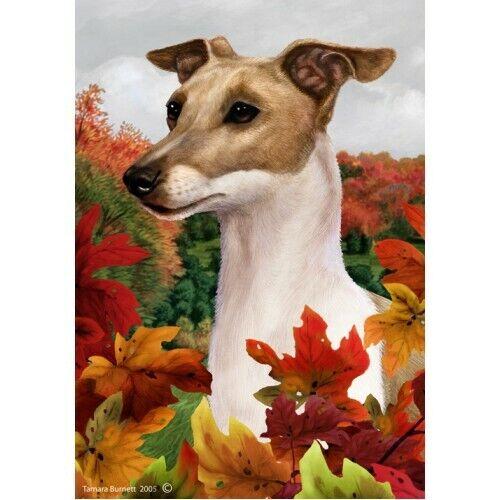 Fall House Flag - Italian Greyhound 13065