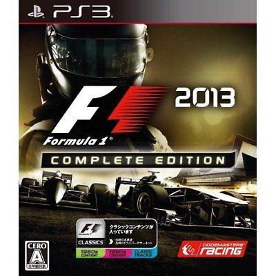 Used PS3 F1 2013 Complete Edition Japan Import comprar usado  Enviando para Brazil