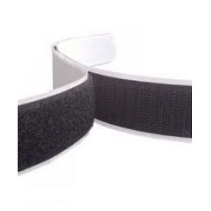 Velcro Self Adhesive Sticky Backed Hook and Loop, Black or White, 10mm or 20mm