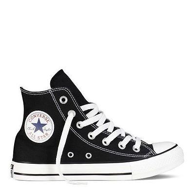 Converse Hi Top All Star Chuck Taylor Black White Mens Womens Shoes All Sizes Chuck Taylor White Top