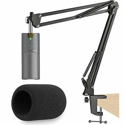 Razer Seiren X Mic Boom Arm with Pop Filter Suspension Boom Scissor Arm Stand...