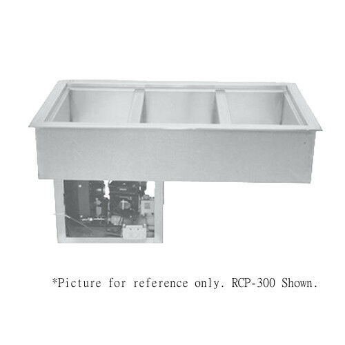 "Wells Rcp-600 Drop-in Refrigerated Cold Food Well - (6) 12"" X 20"" Pan Capacity"