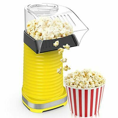 Fast Hot Air Popcorn Popper With Top Coverelectric Popcorn Maker Machinehealt...