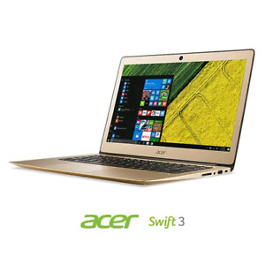 "Gold Acer Swift 3  14"" SF314-36NK never been opened"