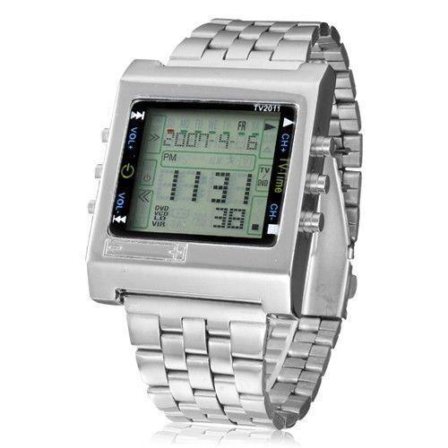 TVG TV/SAT/DVD Remote Control Watch Fashion Men Square Led D