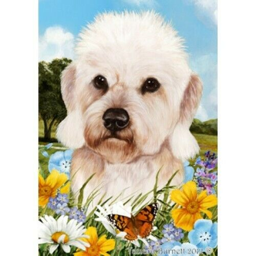 Summer House Flag - Mustard Dandie Dinmont Terrier 18210
