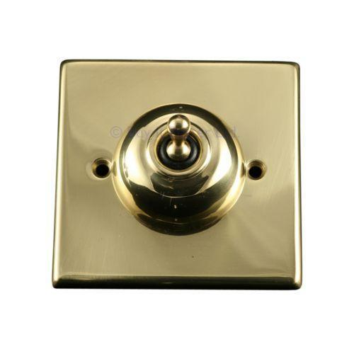 Brushed Brass Light Switches: Brass Light Switch Covers,Lighting