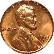 1963 D Penny