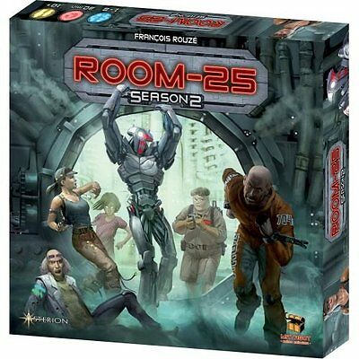 ROOM 25 SEASON 2 BIG BOX Gioco da Tavolo Italiano Asterion scatola grande
