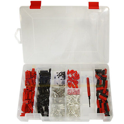 301 Piece Assorted 15/30/45A Anderson Powerpoles with Storage Case and Tool