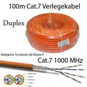 Cat 7 Verlegekabel Duplex