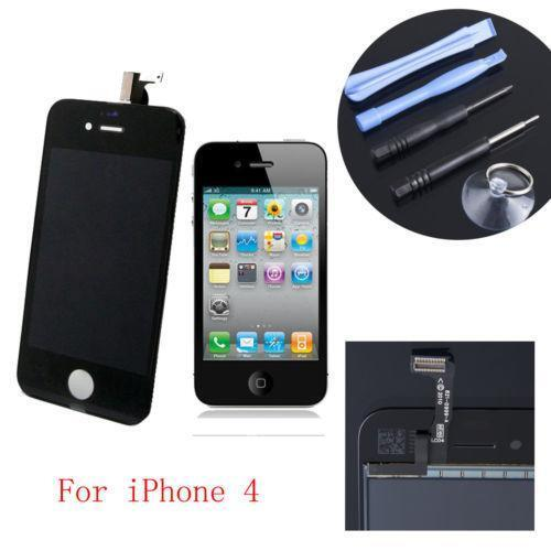 iphone 4 screen repair kit ebay. Black Bedroom Furniture Sets. Home Design Ideas