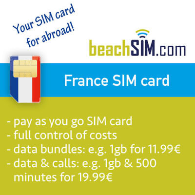 French Prepaid Sim Card France Pay As You Go Lebara Bouygues Telecom Network