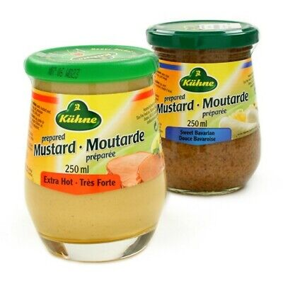Kuhne German Mustard - Whole Grain (250 (German Mustard)