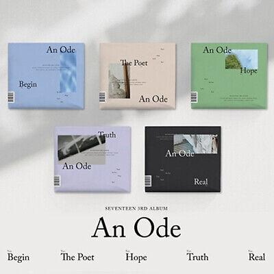 SEVENTEEN [AN ODE] 3rd Album 5 Ver SET+4p POSTER+10ea Photo Book+20p Card SEALED