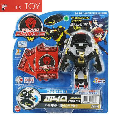 Turning Mecard W PHOENIX Black Gold Special ver. Transformer Robot Toy Sonokong