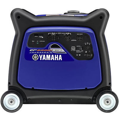 Yamaha Ef6300isde - 5500 Watt Electric Start Inverter Generator