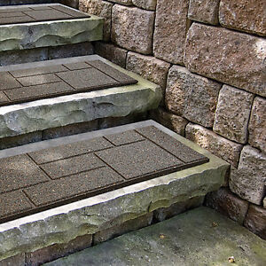 """90-RUBBER COBBLESTONE STAIR TREADS- 10""""X24""""AND 18""""X18"""" LONG. St. John's Newfoundland image 2"""
