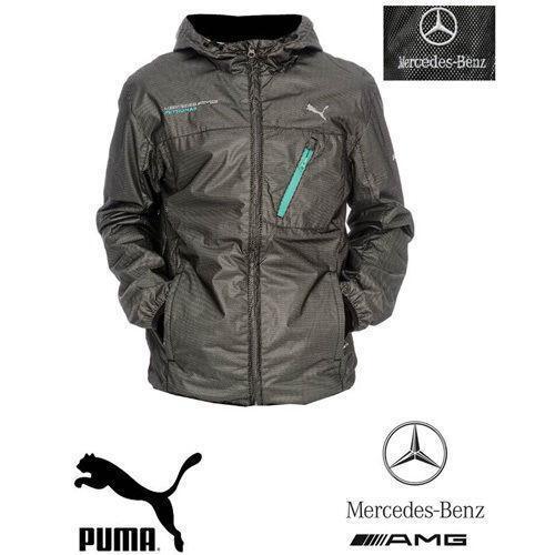 Mercedes Benz Leather Jacket: Puma Mercedes: Clothes, Shoes & Accessories