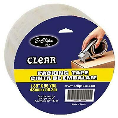 Packing Tape Clear 1.89 X 55 Yds Case Pack Of 48 Ideal For Bulk Buyers