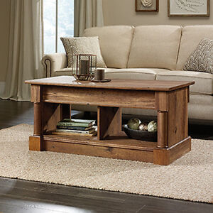 Lift Top Coffee Table - Vintage Oak finish (Scratch & Dent)