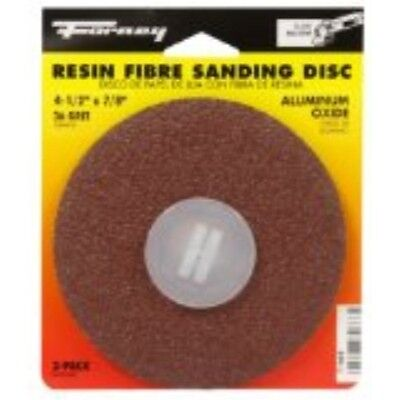 Forney 71668 Sanding Discs Aluminum Oxide With 78-inch Arbor 4-12-inch 36-g