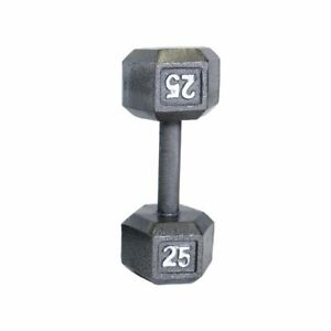 Cast Iron 50 lb Dumbbell Weights - Two for $45.00