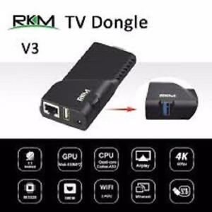 Weekly Promo!  RIKOMAGIC V3: QUAD CORE 4K ANDROID MINI PC STICK 2/8G $119( was$139.99)