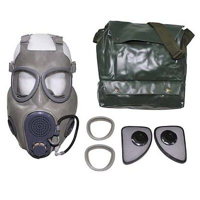 NEW Czech Military M10M NBC Gas Mask w/Filter, Drinking Tube- Sealed Never Worn!