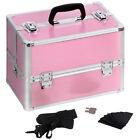 PINK Aluminium Makeup Boxes