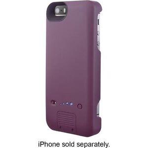 platinum external battery case for apple iphone 5 and 5s purple ebay. Black Bedroom Furniture Sets. Home Design Ideas