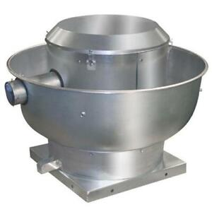 Commercial Food truck/Restaurant exhaust Fan Direct Drive Centrifugal Up Blast Roof or Sidewall Mount