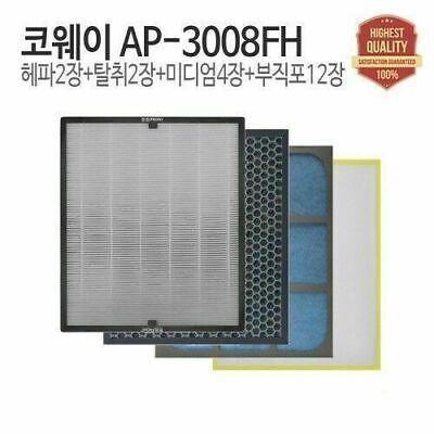 Filtertech Compatible Replacement Air Purifier Filter Set For COWAY AP-3008FH