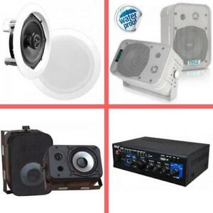 Weekly Promo!  Pyle Speakers, Pyle amplifiers, starting from $89