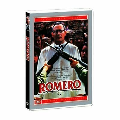Romero - Raul Julia, Richard Jordan 1989 Brand New UK Compatible Region Free DVD