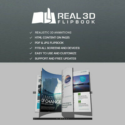 Real 3d Flipbook Create Realistic 3d Magazines Catalogs Wordpress Plugin
