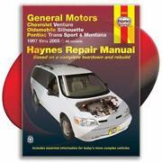 Pontiac Montana Repair Manual