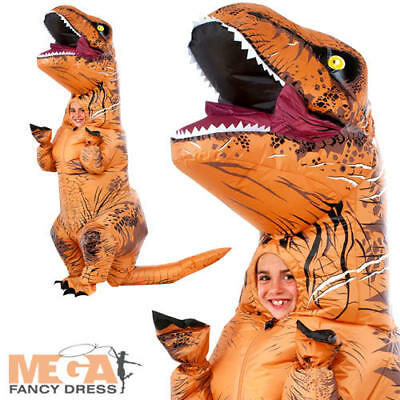 Inflatable Kids T-Rex Jurassic Park Fancy Dress Halloween Child Dinosaur Costume - Jurassic Park Halloween Costumes