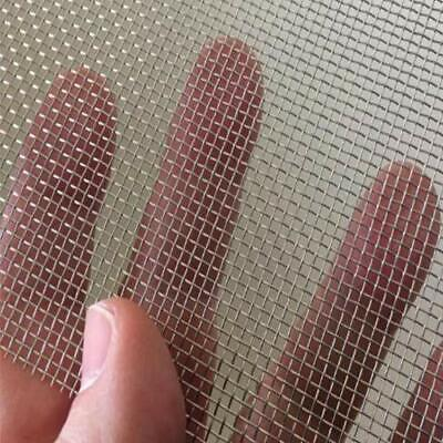 2 Pack Window Screen Mesh Stainless Steel Wire Mesh Replaceable Security Mesh...
