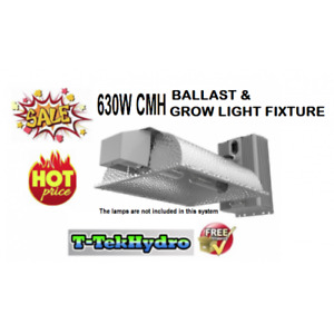 630W CERAMIC METAL HALIDE BALLAST & GROW LIGHT FIXTURE