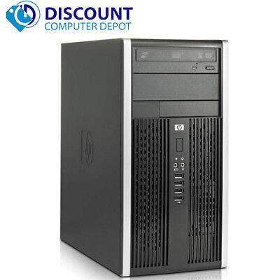 Fast HP Windows 10 Desktop Computer PC Tower Dual Core 2.8GHz 4GB RAM 160GB Wifi