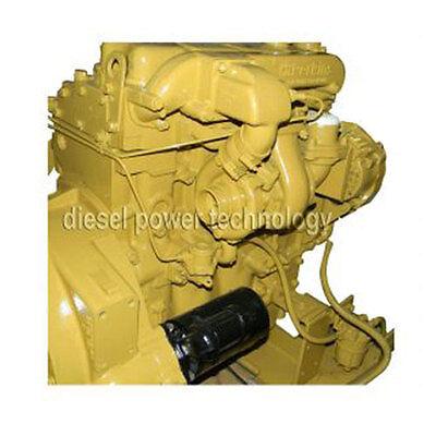 Caterpillar 3054 Remanufactured Diesel Engine Long Block Or 34 Engine