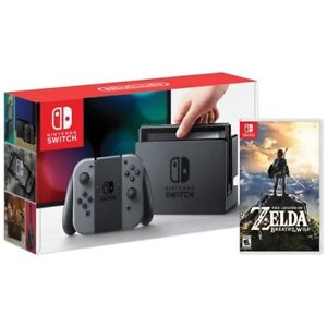 Brand New (Sealed)_Nintendo Switch + Zelda BOTW