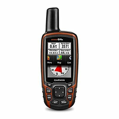 GARMIN GPSMAP 64s Handheld GPS Receiver Navigaror Compass Al