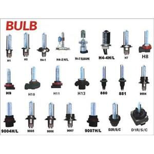 HID HEADLIGHT CONVERSION KIT - CANBUS HID BULB REPLACEMENT XENON